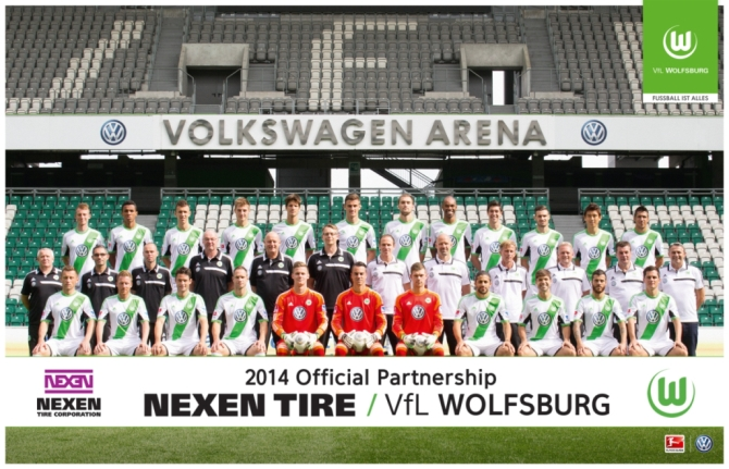 Nexen Tire signs sponsorship contract with VFL Wolfsburg, a professional German football club
