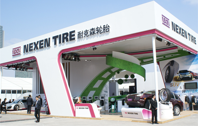 Nexen Tire exhibits at Shanghai Motors Show