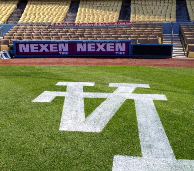 Nexen Tire, Signed an official partnership with LA Dodgers