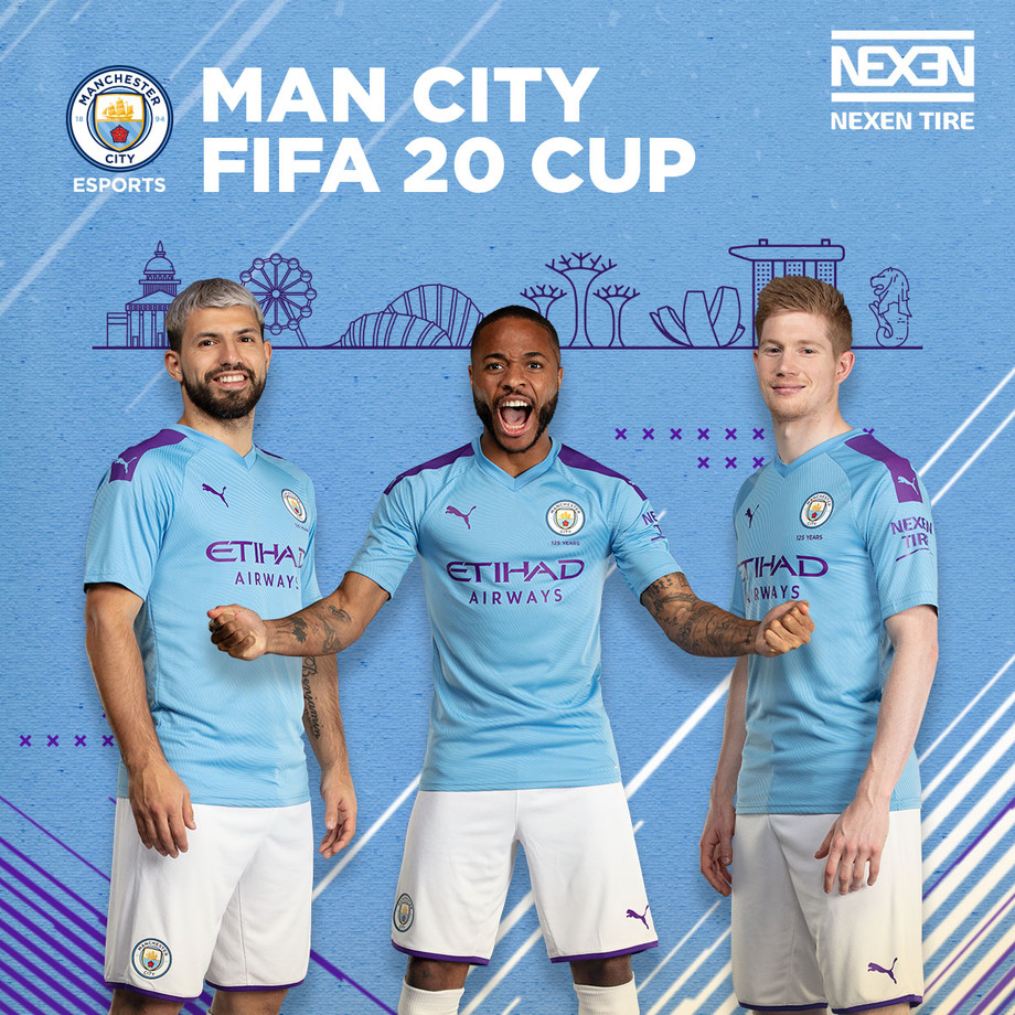 NEXEN TIRE Sponsors Man City FIFA 20 E-sport Tournament