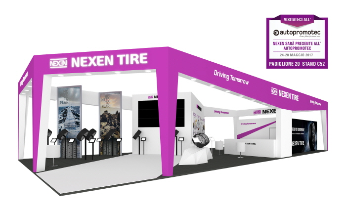 NEXEN TIRE Announces Participation in Autopromotec 2017 in Italy