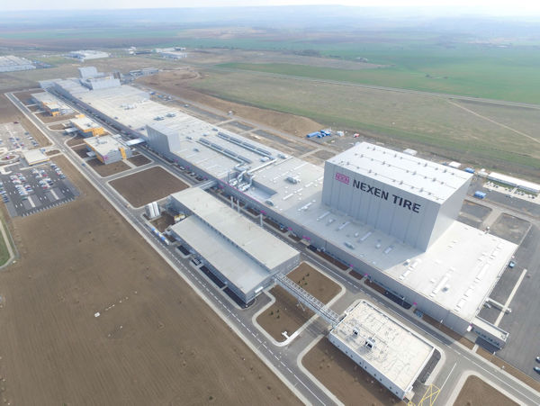 NEXEN TIRE starts into a new era:  Opening Ceremony for its New Europe Plant in Czech Republic