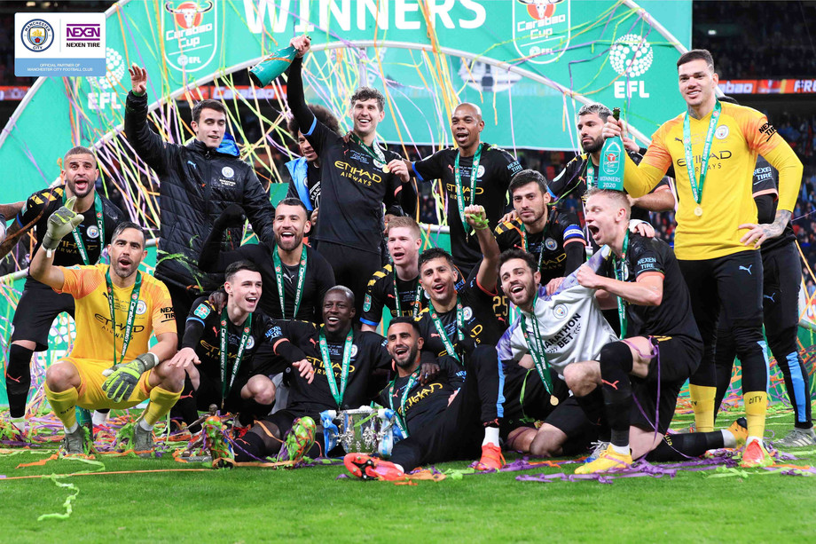 NEXEN TYRE's Partner Manchester City Wins Carabao Cup for Three Consecutive Years