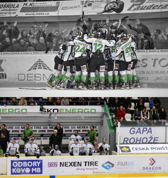 NEXEN TIRES Officially Sponsored Ice Hockey Team, BK Mlada Boleslav of the Czech Extraliga, Finish Season with the Best Record in Club History