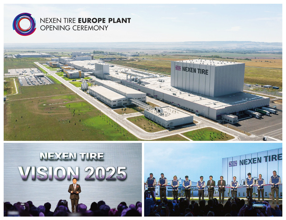 NEXEN TIRE Unveils the New Europe Plant at the Grand Opening and Ribbon-Cutting Ceremony in the Czech Republic