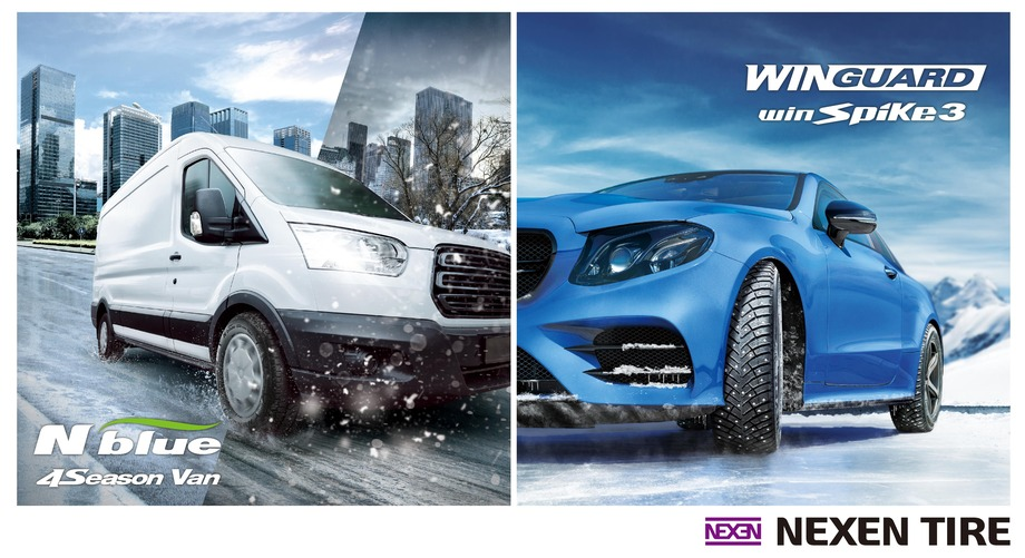 NEXEN TIRE Launches New All-Season N'blue 4Season Van and Updated WINGUARD winSpike 3 Winter Tyres in Europe