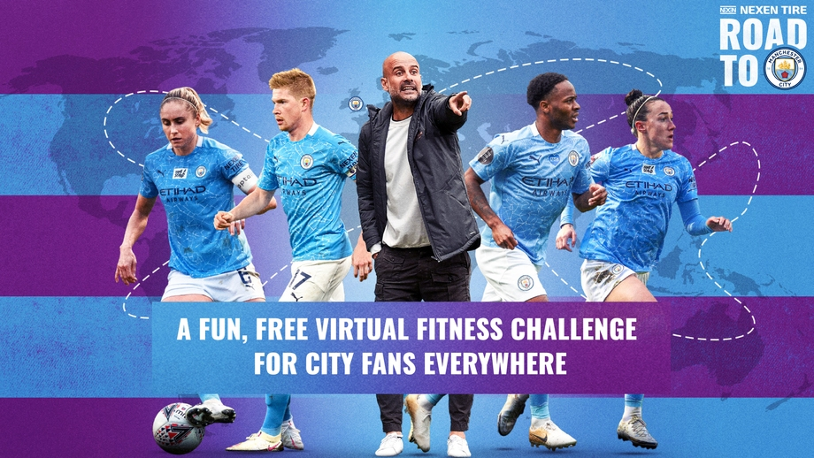 MANCHESTER CITY AND NEXEN TIRE BRING NEW VIRTUAL FITNESS CHALLENGE, NEXEN ROAD TO MAN CITY, TO FANS