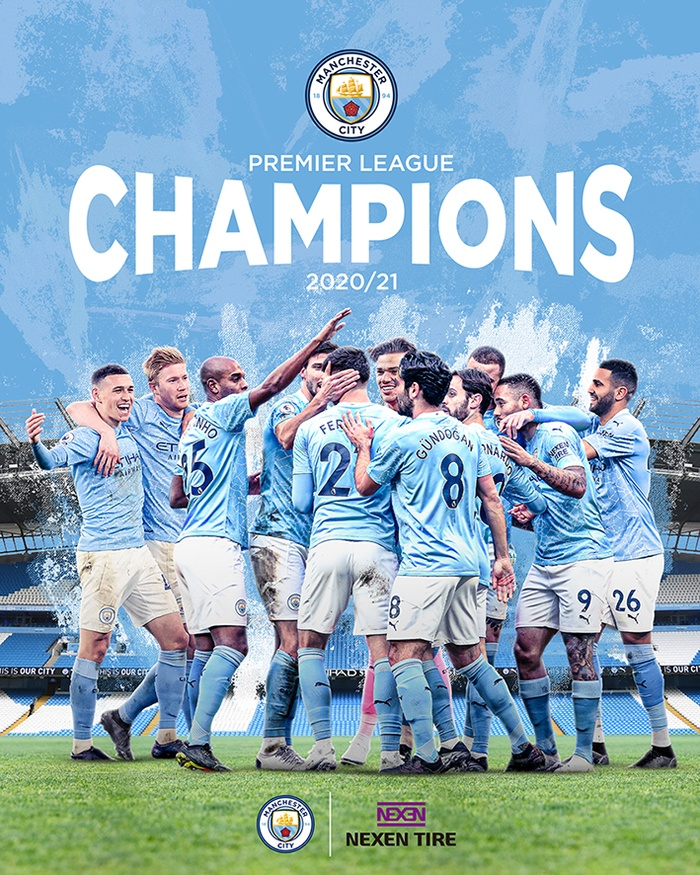 Nexen Tire congratulates partner Manchester City on stunning Premier League victory